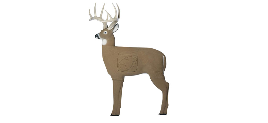 GlenDel-Buck-3D-Archery-Target-with-Replaceable-Insert-Core