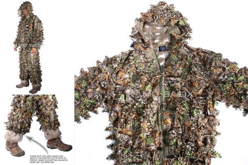 Kamo-Basix-KamoLeaf-3D-Leafy-Ghillie-Suit