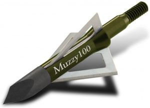 Muzzy Bowhunting 3 Blade Archery Arrow Broadhead