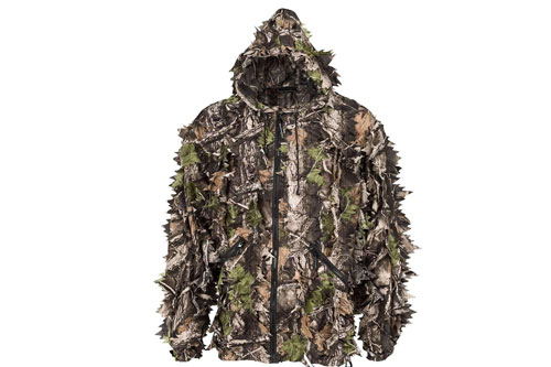 Super Natural 3D Camouflage Leafy Hunting Suit