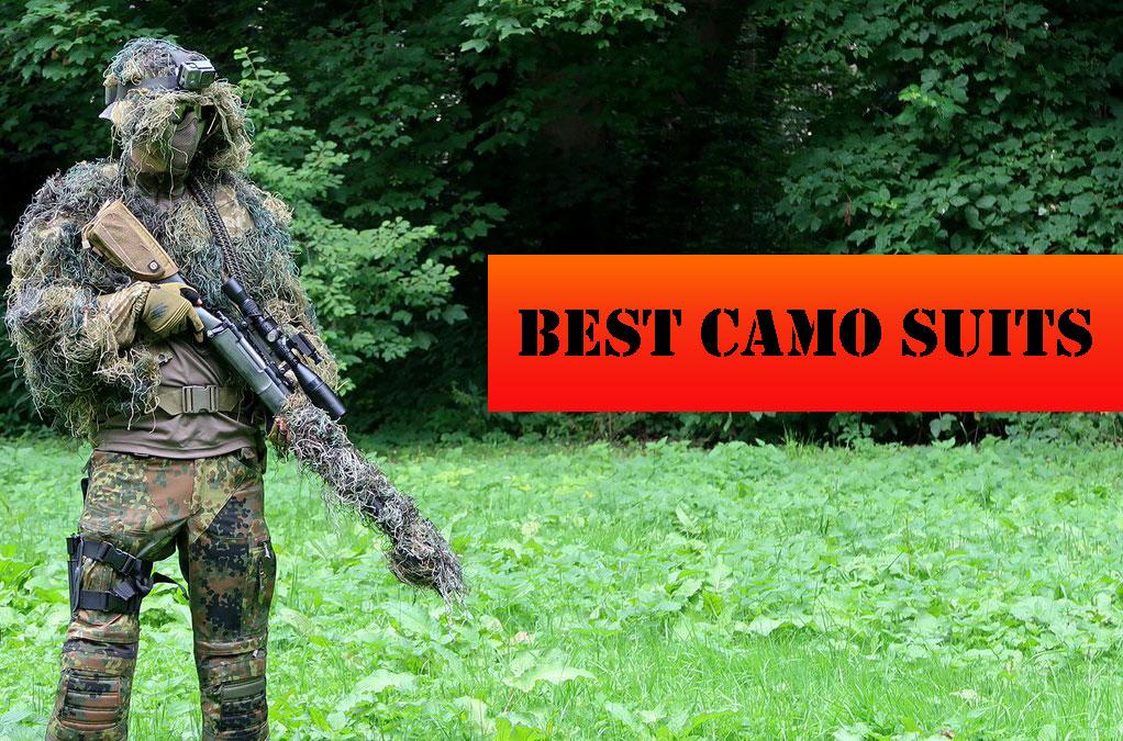 best 3D leafy camouflage suit